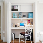 Brilliant Pequenos Espacos Home Office No Armario Go Home Office Largest Home Design Picture Inspirations Pitcheantrous